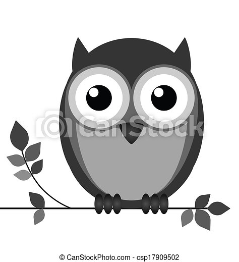 Wise owl - csp17909502