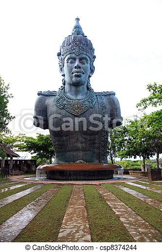 Wisnu Garuda God - csp8374244