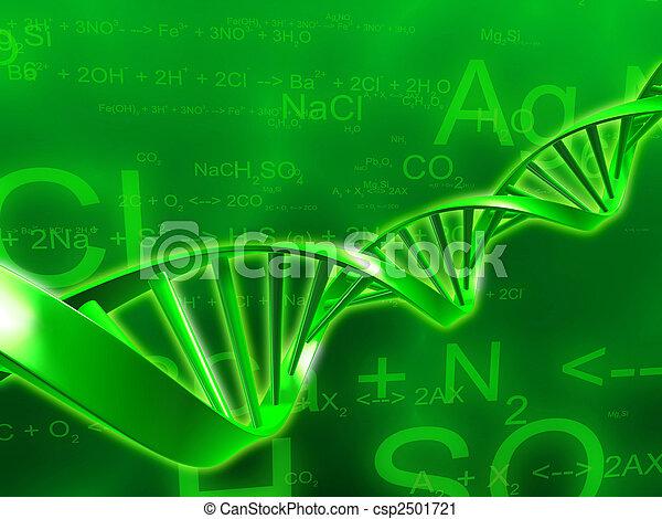 wissenschaft, abbildung - csp2501721