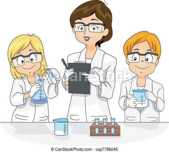 wissenschaft experiment - csp7786045