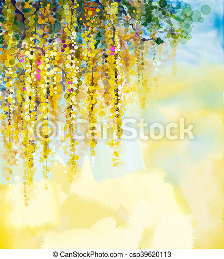 Wisteria flowers watercolor painting abstract flowers watercolor wisteria flowers watercolor painting csp39620113 mightylinksfo