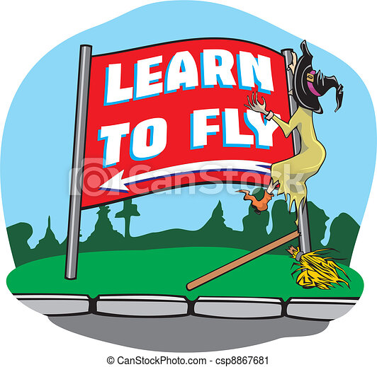 Witch accident - learning to fly - csp8867681