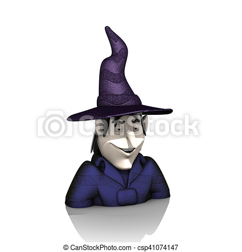witch hat - csp41074147