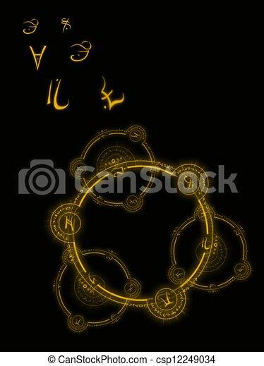 Witchcraft Occult Symbols