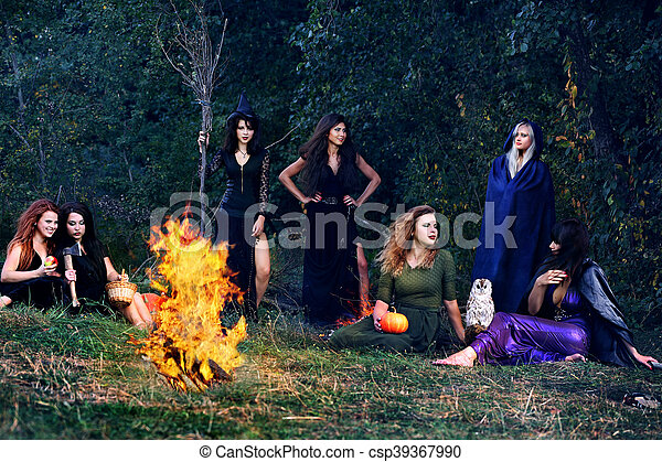 witches on the Sabbath - csp39367990