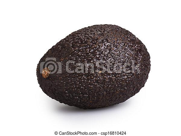 witte , avocado, vrijstaand - csp16810424