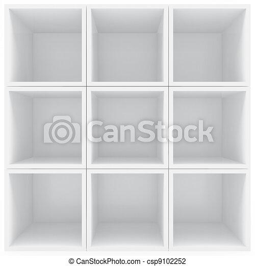 witte , planken - csp9102252
