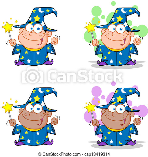 Wizard Boy.Collection - csp13419314