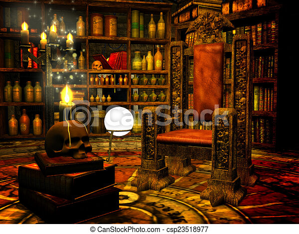 Wizard S Study Living Room