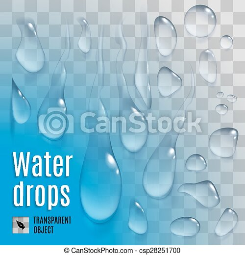 woda krople - csp28251700