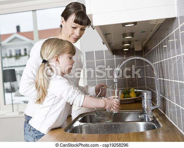woda, picie - csp19258296