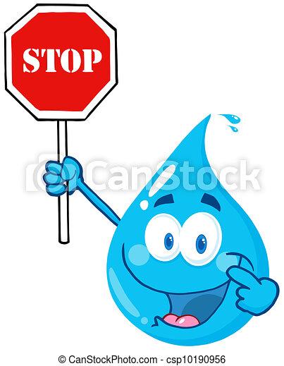 woda, zatrzymywać, kropla, litera, dzierżawa - csp10190956