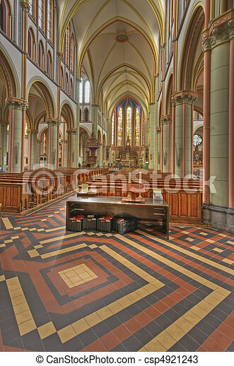 Woerden Cathedral - csp4921243