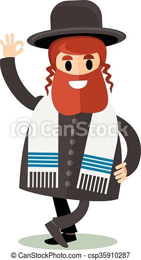 Wohnung jude payot orthodox kippah jude vektor for Meine wohnung click design download