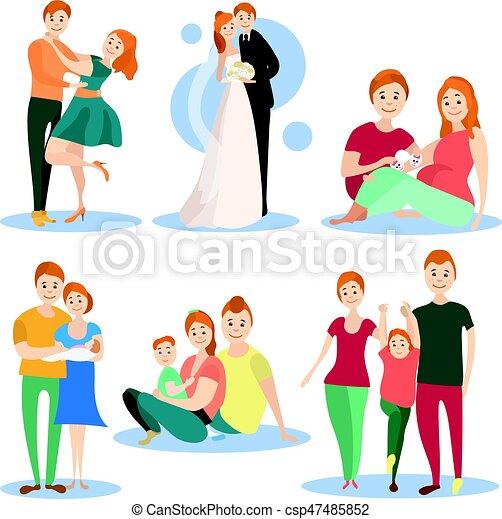 Schwanger und datierendes Baby Papa