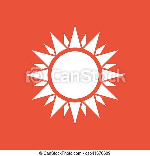 wohnung sonnenschein zeichen sonnenschein web symbol ui app sonne wetter icon. Black Bedroom Furniture Sets. Home Design Ideas