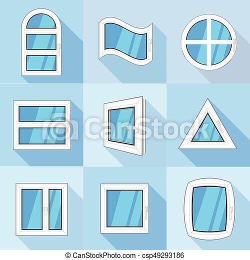 Wohnung Stil Heiligenbilder Satz Fenster Arten Wohnung Satz