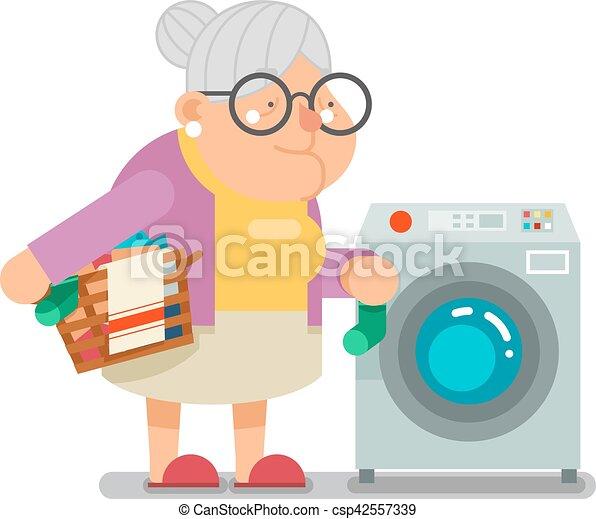 dreckige alte Großmütter