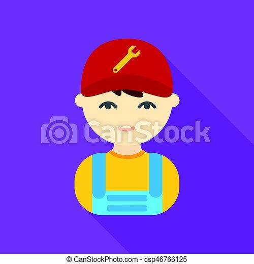 Wohnung web beweglich abbildung mechaniker icon for Meine wohnung click design download