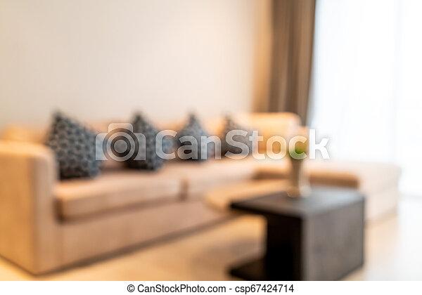 Wohnzimmer, abstrakt, defocused, verwischen ...