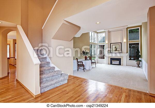 Wohnzimmer gang haus luxus interior wohnzimmer - Wohnzimmer franzosisch ...