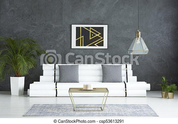 Wohnzimmer Gold Tisch