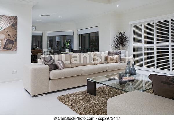 Wohnzimmer, luxuriös, essen, hintergrund, tisch Bild - Suche Foto ...