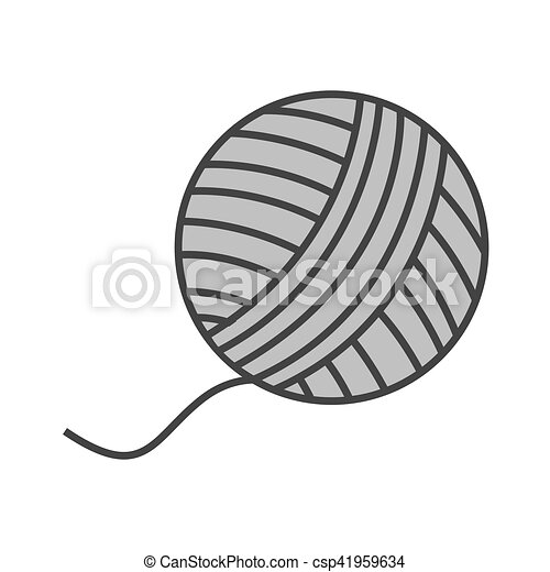 Bola de icono aislado - csp41959634