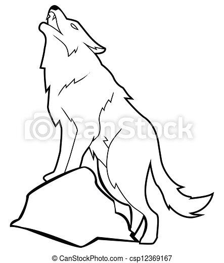 wolf - csp12369167