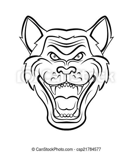 Wolf Head - csp21784577
