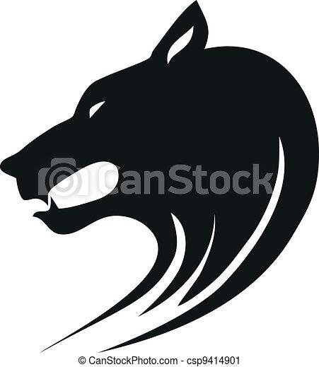 Wolf head - csp9414901
