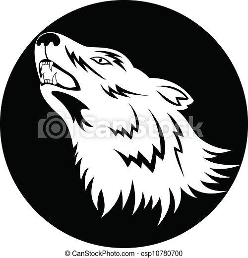 Wolf tattoo - csp10780700