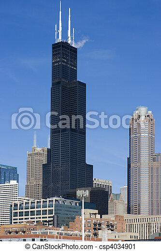 Chicago Bilder wolkenkratzer chicago il chicago wolkenkratzer stockfotografie