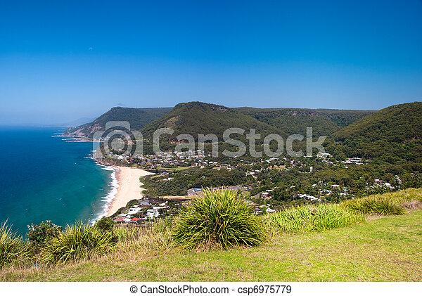 Wollongong Beach (Sydney, Australia) - csp6975779