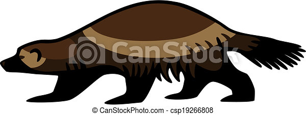 wolverine illustrations and clipart 196 wolverine royalty free rh canstockphoto com wolverine clipart free wolverine clipart images