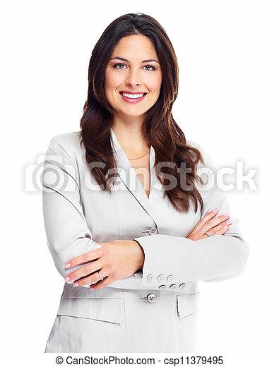 woman., ビジネス - csp11379495