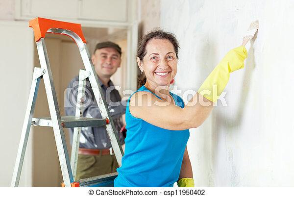 apartment renovation work