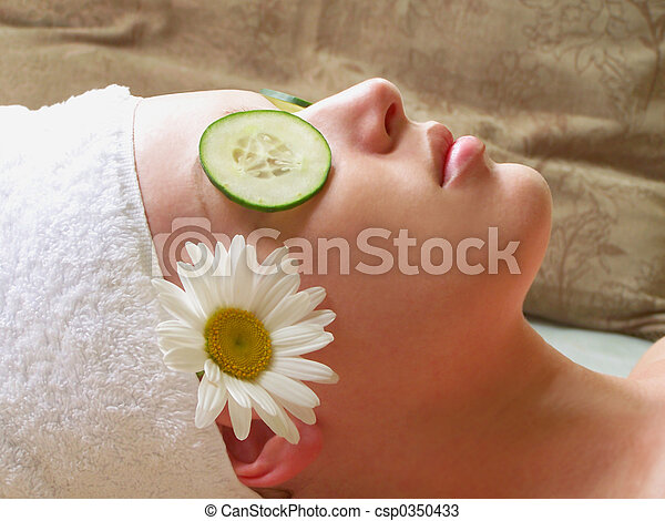 Woman at Spa. - csp0350433