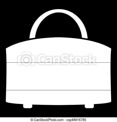 Woman bag icon . - csp48916785