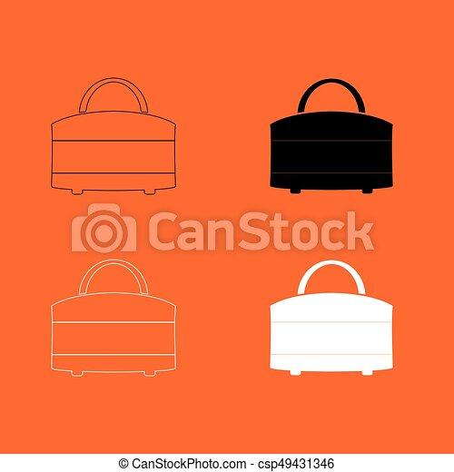 Woman bag icon . - csp49431346