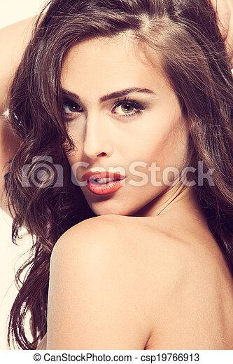 woman beauty face - csp19766913