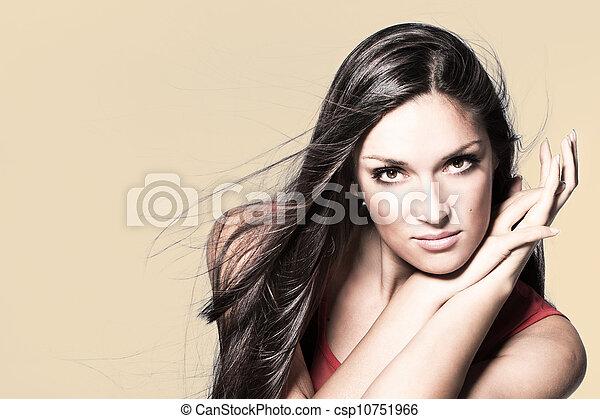 woman beauty - csp10751966