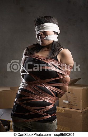 Tied up by asian women