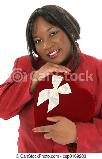 Woman Box Chocolate - csp0169283