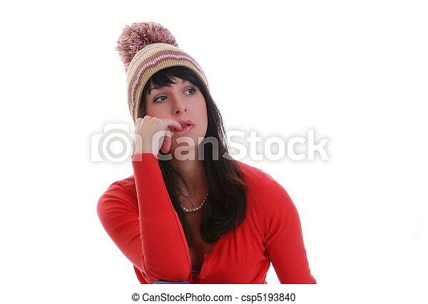 woman-cap - csp5193840
