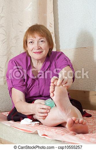 Mature foot