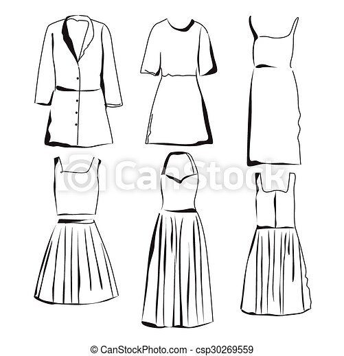 Woman Clothes Summer Clothes Set Black And White Fashion Collection