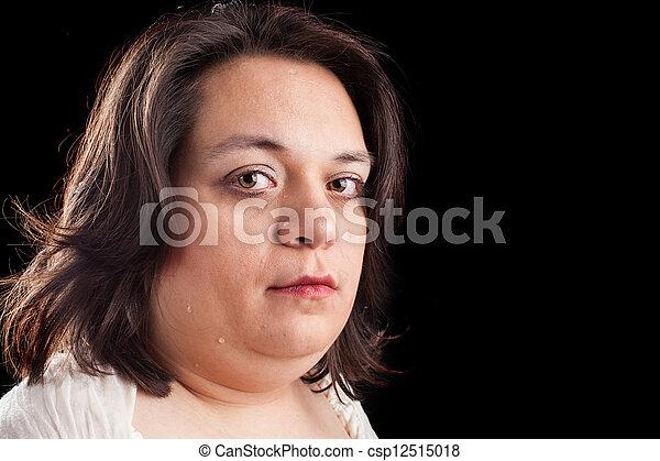 woman crying - csp12515018