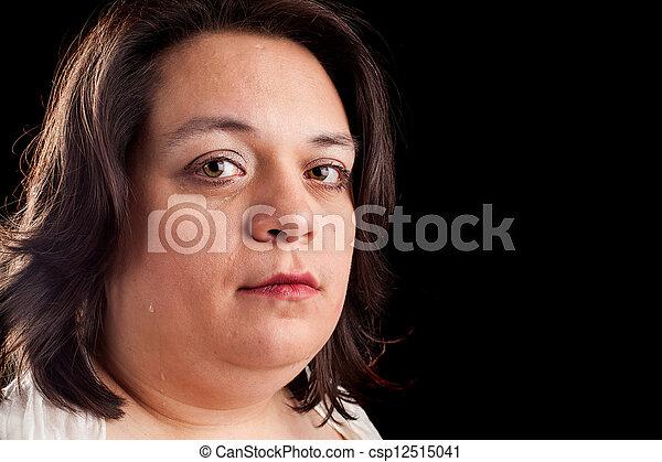 woman crying - csp12515041