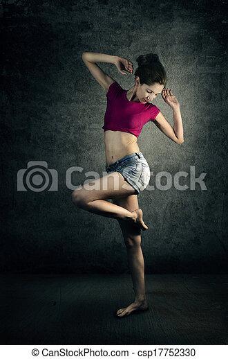 Woman Dancer - csp17752330